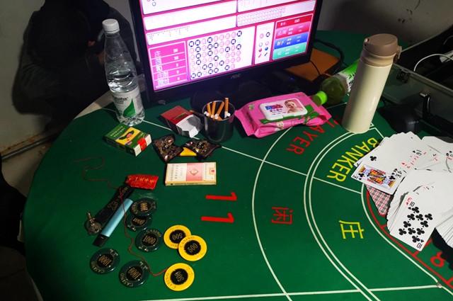 柘城警方捣毁赌博窝点 用网络参与境外赌博