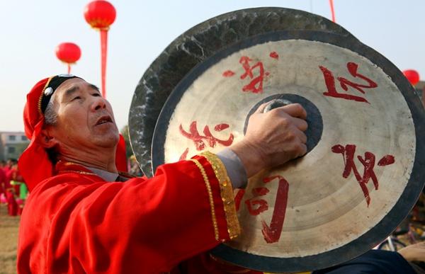 """河南郏县喜获""""中国大铜器舞文化之乡"""""""