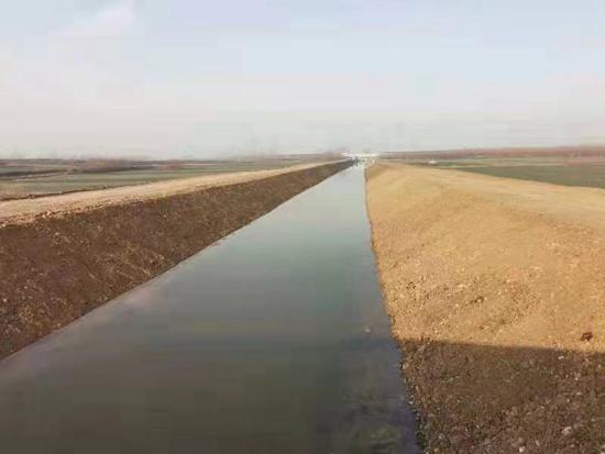 河南宝丰:一渠清水润沃野
