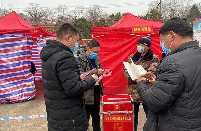 鲁山县观音寺乡太平保村高质量完成村委会换届选举