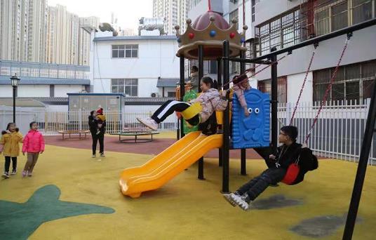 洛阳西工区:组团连片改造 扮靓老旧小区