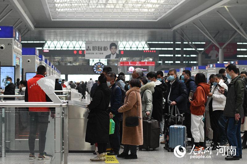 2021春运落幕 郑州铁路发送旅客1009.4万人