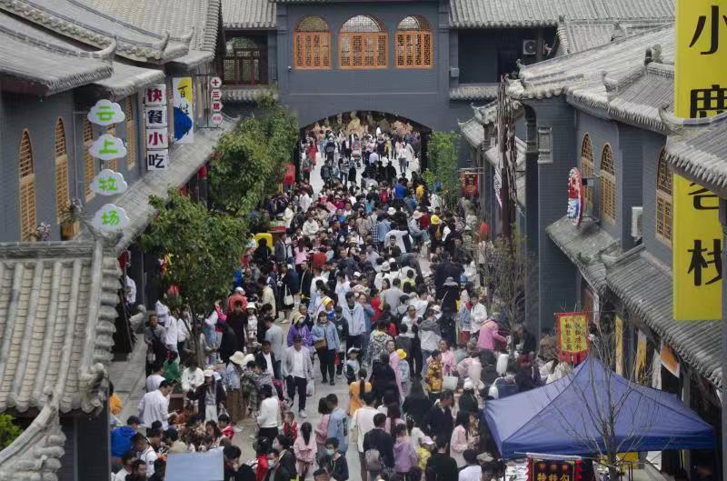 五一期间新密市游客大幅增长