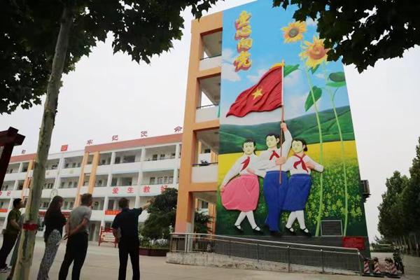 孟州:红色教育进校园 革命薪火代代传