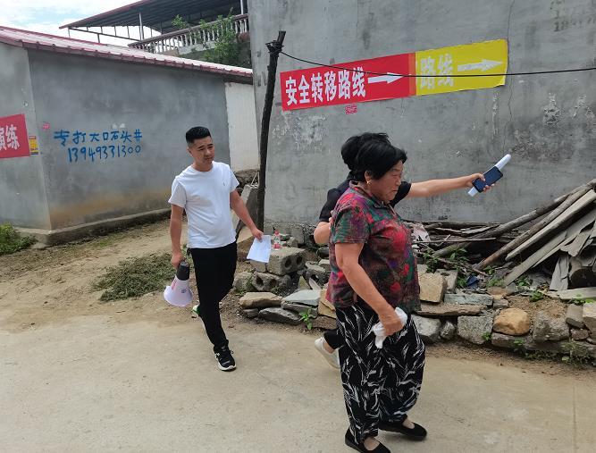 鲁山县团城乡举行地质灾害防汛抢险应急模拟演练