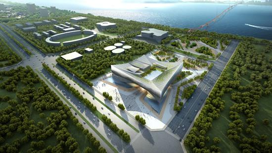 宜阳县举行文化艺术中心项目开工仪式