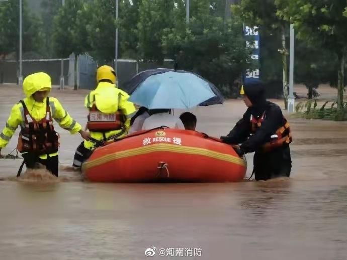 河南消防救援队伍进入战时状态 登封市救出328人