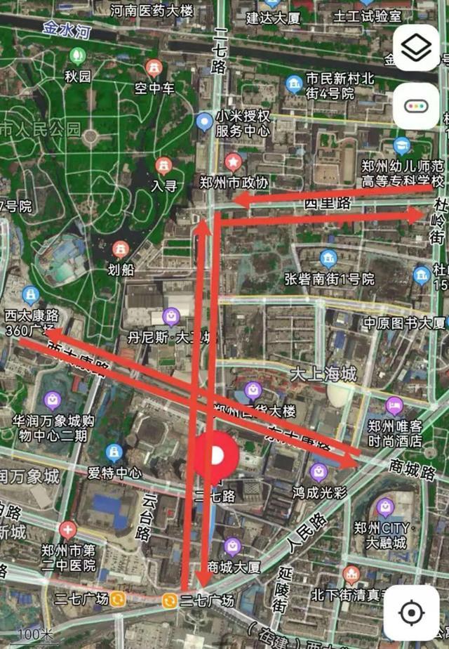 转发提醒!郑州这些路段通行方式有临时变化
