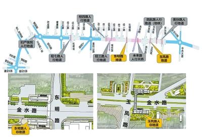 金水路提升改造,下一步怎么改?郑州市城乡建设局:施工拟定于中秋假期夜间