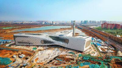 国内在建最大规模 省科技馆新馆开馆