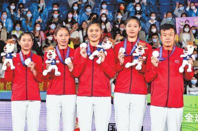 全运会女子三人篮球成年组 河南女篮获得亚军